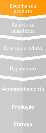 Etapas para criação: Escolha seu produto