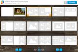 Mesa Mágica Printástico visualizando todas as páginas do FotoLivro